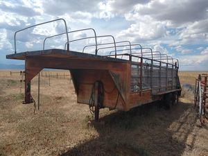 21 foot Stock trailer $ 3,000 for Sale in Albuquerque, NM
