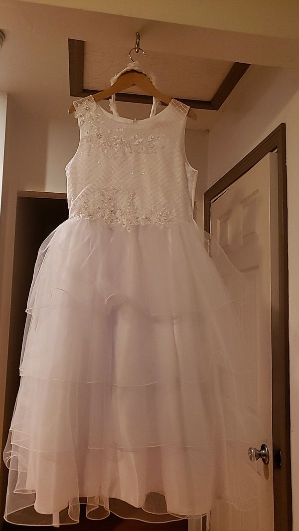 Communion or flower girl dress with little jacket