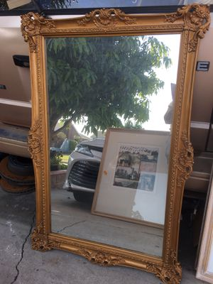 Gold wall mirrors for Sale in Buena Park, CA