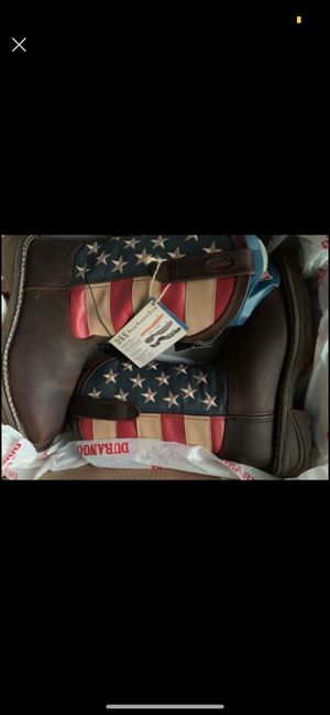 Steel toe work boots for Sale in Humble, TX
