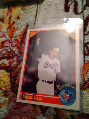 Nolan Ryan Baseball Cards Lot of 8 Total Cards for Sale in Port Richey, FL