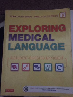 Exploring Medical Language edition 9 for Sale in Baton Rouge, LA