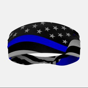Thin blue line headbands for Sale in Amazonia, MO