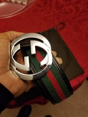 Gucci Belt and dust bag for Sale in Laurel, MD