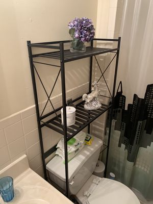 Over-the-toilet storage shelving for Sale in Foster City, CA