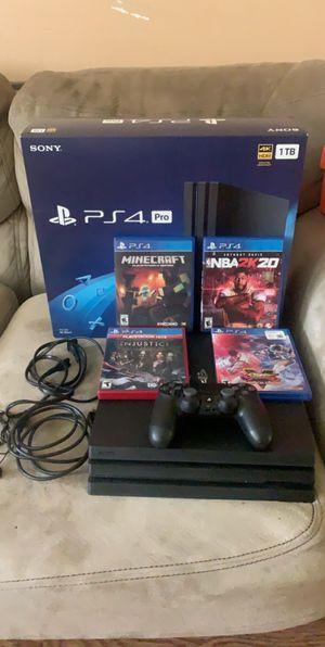 PlayStation 4 Pro Bundle for Sale in Gilmer, TX