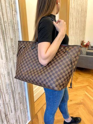 Authentic Louis Vuitton Neverfull GM tote bag for Sale in Fairfax, VA