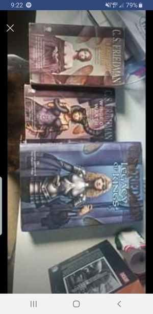 C.S. Friedman magisterial trilogy for Sale in South Saint Paul, MN