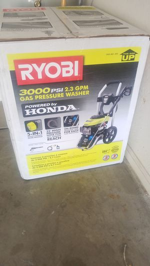 Honda Pressure Washer 3000psi $200 for Sale in Goodyear, AZ