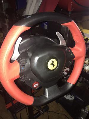 Xbox 1 steering wheel, pedals, and stand for Sale in Union City, CA