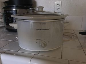 Hamilton Beach Crock Pot for Sale in Fresno, CA