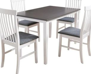 **MUST SELL ASAP** CorLiving - Michigan Two Tone White and Gray Dining Table for Sale in San Diego,  CA