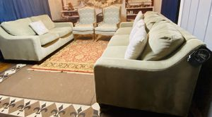 Few months old couches with two accent chairs . Basically brand new for Sale in Manassas, VA