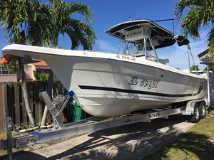 2000 Cobia 264 Center Console Boat Twin Yamaha 200 hp OX 66 Engines New 2019 Trailer! for Sale in Miami, FL