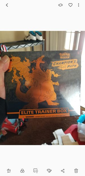 Poke'mon factory sealed elite trainer box. for Sale in Brooklyn, OH