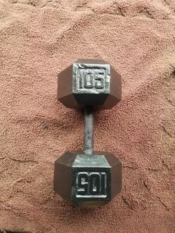 SINGLE HEXHEAD DUMBBELL for Sale in Chicago, Illinois