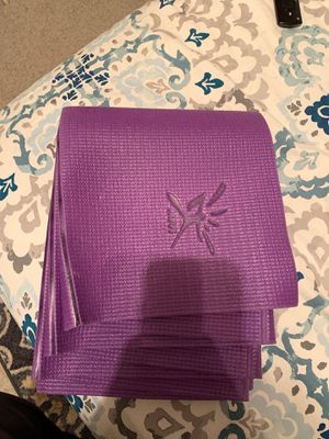 Fold-Up Travel Yoga Mat for Sale in Troy, IL
