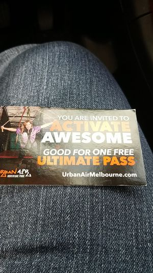 Urban AIr Ultimate Pass for Sale in Palm Bay, FL