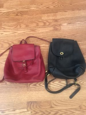 Authentic vintage Coach Mini Backpacks for Sale in Acworth, GA