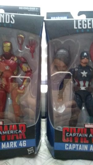 Iron man Mark 46/Captain America for Sale in Baltimore, MD