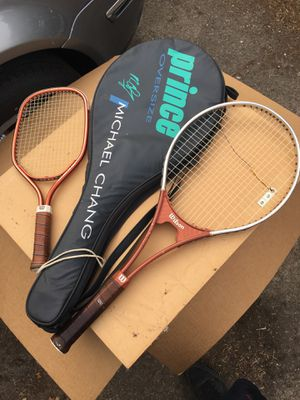 2 tennis rackets and bag for Sale in Hillsboro, OR