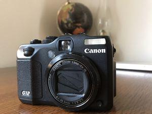 Canon Powershot G12 Compact Digital Camera for Sale in Monroe, WA