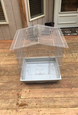2 Bird cages Gable playtop for Sale in Bonney Lake, WA