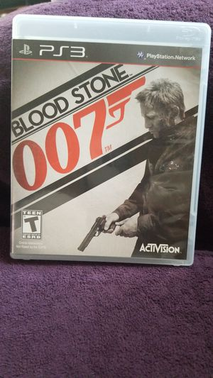 PS3 Blood Stone 007 Game for Sale in Hayward, CA
