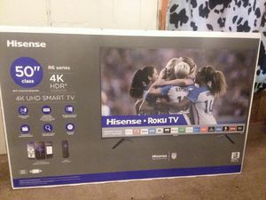 Brand new Still in the box 50 inch 4k HDR Roku SMART TV for Sale in Lexington, SC