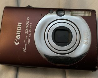 Canon power shot SD1100 IS Digital used Camera in perfect condition. Comes with charger, battery and SD card. Local pick and cash only for Sale in Queens,  NY