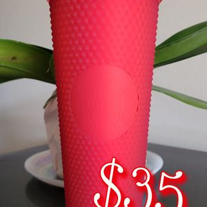 Brand New 2020 Starbucks Matte Red Studded Cup for Sale in Belmont, CA