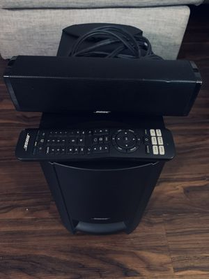 Bose CineMate 15 home theater speaker system - complete set for Sale in Gardena, CA