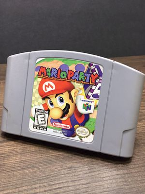 AUTHENTIC NINTENDO 64 MARIO PARTY for Sale in Garden Grove, CA