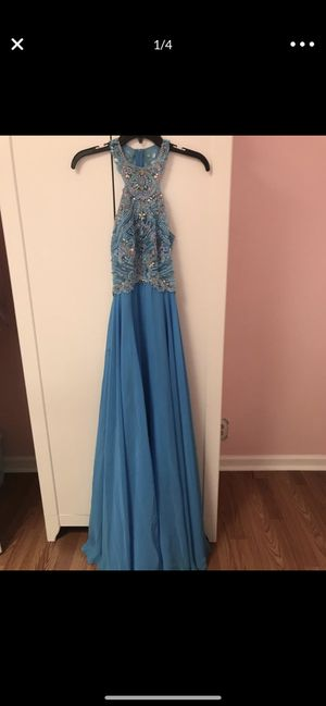 Prom dress worn once size 4 for Sale in Antioch, CA