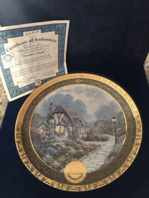 Thomas Kinkade Collector's Plate for Sale in Chino, CA