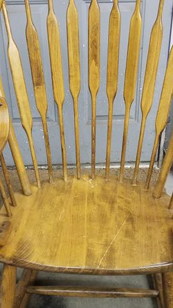 Solid Maple Wood Rocking Chair for Sale in Auburn,  WA