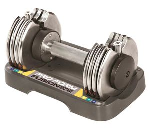 Brand New in Box Never Used One (1) ProForm 25 Lb. Adjustable Dumbbell with Compact Storage Tray, Single for Sale in Norfolk, VA