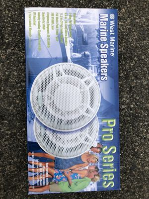 """Speakers 6.5"""" West Marine for Sale in Waltham, MA"""