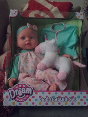 Soft doll gift set for Sale in Fort Washington, MD