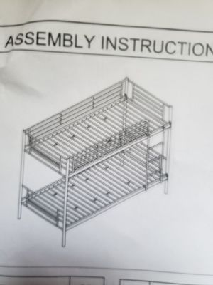 Metal bunk beds for Sale in Uniontown, PA