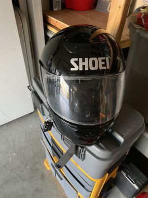 Shoei motorcycle helmet for Sale in Renton, WA