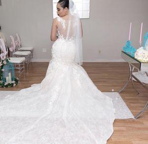 Wedding dress mermaid for Sale in Brockton, MA