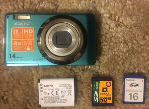 Sanyo digital camera/video Perfect working/&condition for Sale in Rocklin, CA