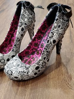 Punk Rock Skull 5inch High Heels for Sale in Glendale,  CA