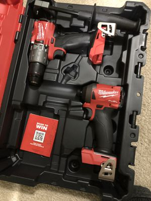 Milwaukee fuel m18 drills for Sale in Houston, TX