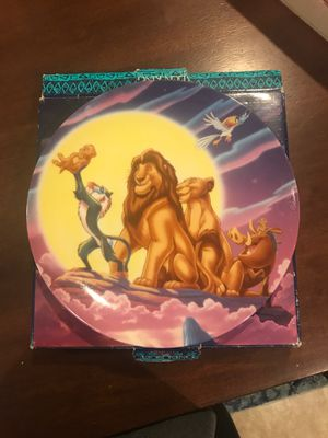 Disney Lion King Plate for Sale in Maitland, FL