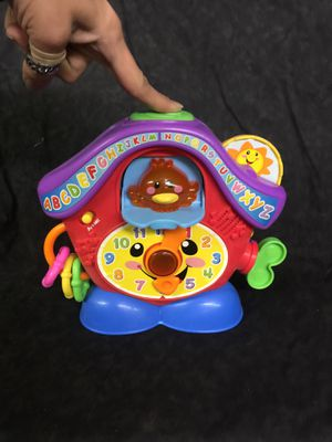 Fisher price educational clock toy for Sale in Moore, SC