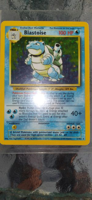 Holo Blastoise (2/120) for Sale in Federal Way, WA