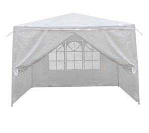 10 X 10' Wedding Party Tent Gazebo Canopy w/ 4 Removable Sidewalls Outdoor White for Sale in Las Vegas, NV