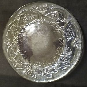 """Vintage Collectible Large Glass Plate Serving Tray Platter or Candle Holder Centerpiece 13"""" Excellent Condition for Sale in Tacoma, WA"""